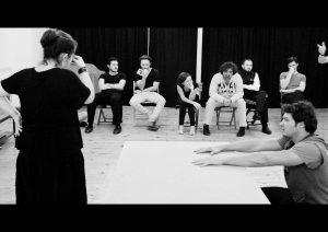 Esercizi durante la lezione di Daniele Pilli